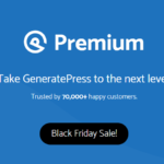 GeneratePress Black Friday Deal 2020